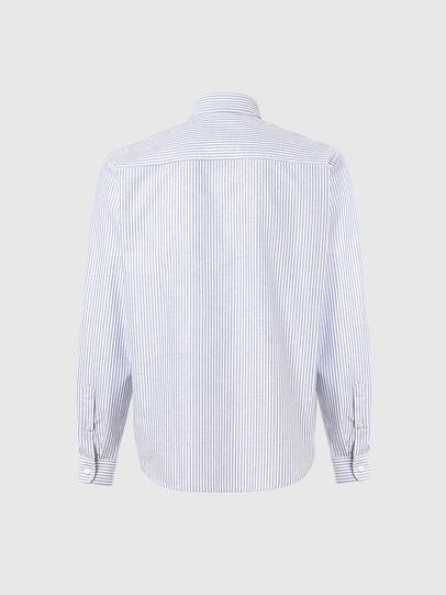 Diesel - S-JAMES-A, Azul marino/Blanco - Camisas - Image 2