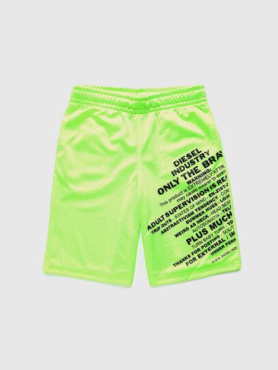Diesel - PFRAKLE, Verde Fluo - Shorts - Image 1