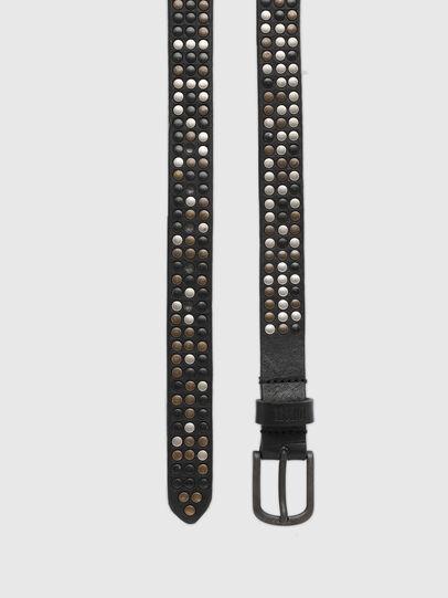 Diesel - B-FRAM, Negro - Cinturones - Image 3