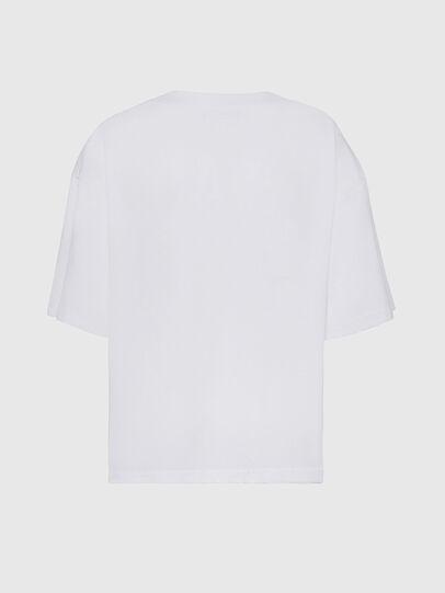 Diesel - T-RASSEL, Blanco - Camisetas - Image 2