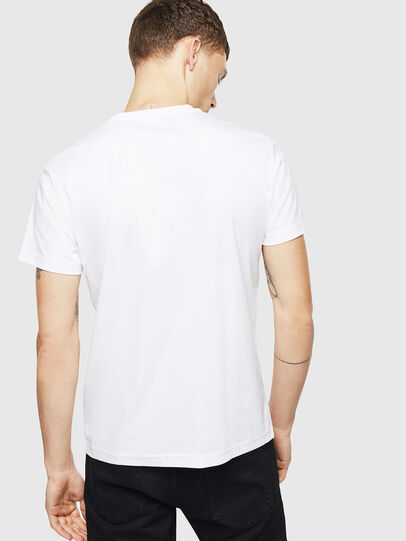 Diesel - T-DIEGO-J8, Blanco - Camisetas - Image 3