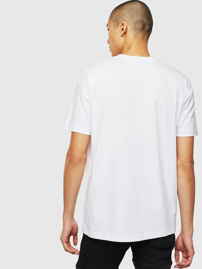 Diesel - T-JUST-J14, Blanco - Camisetas - Image 2