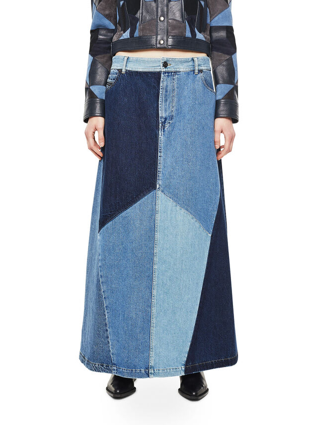 Diesel - ODETTE, Blue Jeans - Faldas - Image 1