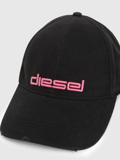 Diesel - DECHO, Negro/Rosa - Gorras - Image 3