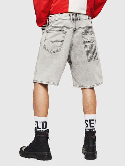 Diesel - D-WILLOH, Gris Claro - Shorts - Image 2