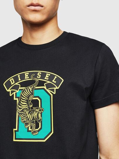 Diesel - T-DIEGO-B4, Negro - Camisetas - Image 3