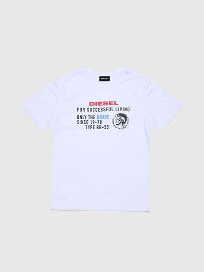 Diesel - TDIEGOXBJ, Blanco - Camisetas y Tops - Image 1