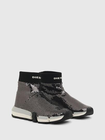 Diesel - H-PADOLA SOCK W, Negro - Sneakers - Image 2