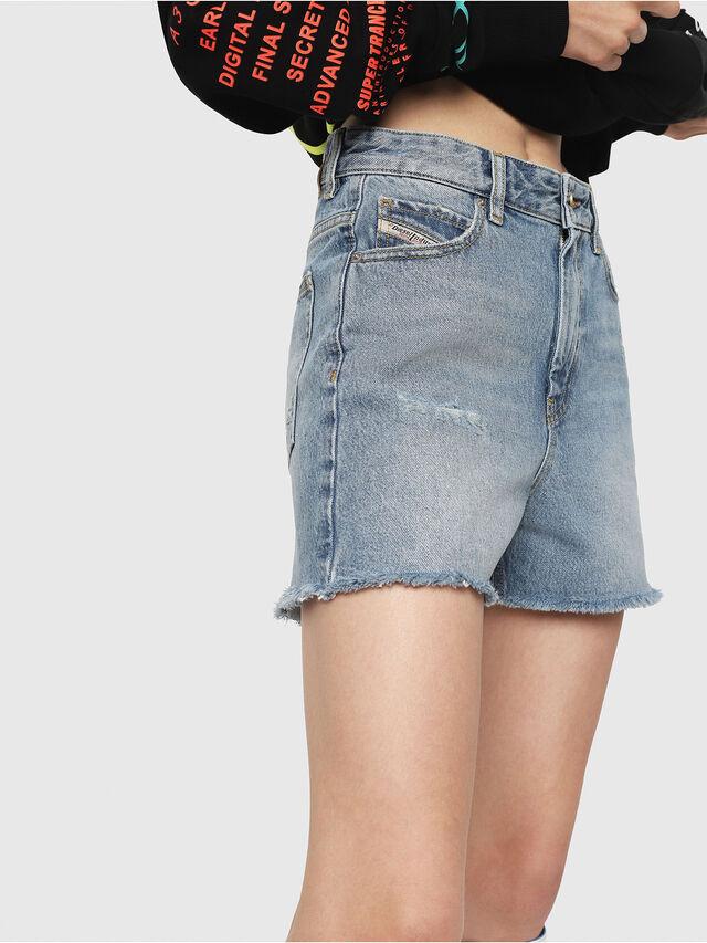 3ab7b09a6f DE-EISELLE Mujer  Pantalones cortos de largo medio en denim