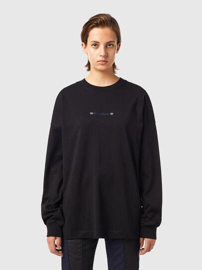 Diesel - T-BLONG, Negro - Camisetas - Image 1
