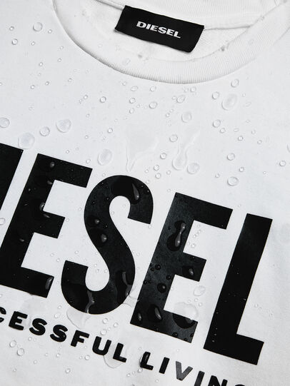 Diesel - S-GIR-DIVISION-LOGO, Blanco - Sudaderas - Image 6