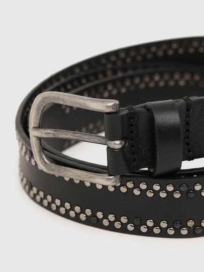 Diesel - B-INARY, Negro - Cinturones - Image 2