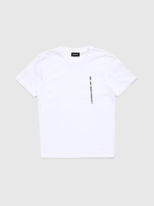 TJUSTPOCKETCOPY, Blanco - Camisetas y Tops