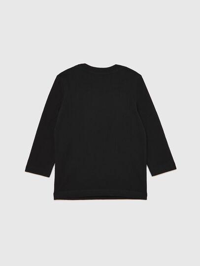 Diesel - TJUSTLOGOB ML-R, Negro - Camisetas y Tops - Image 2