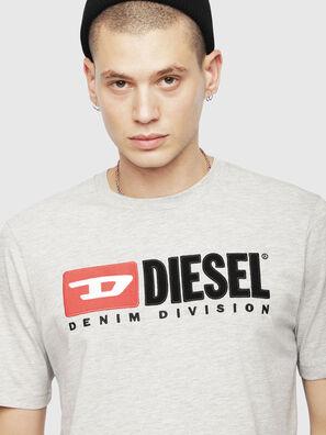 T-JUST-DIVISION, Gris Claro - Camisetas