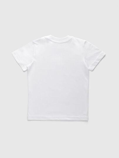 Diesel - TJUSTDIVISIONB-R, Blanco - Camisetas y Tops - Image 2