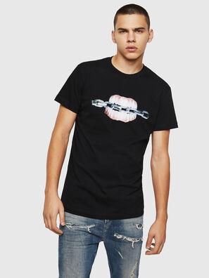 T-DIEGO-B10, Negro - Camisetas