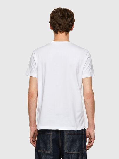 Diesel - T-DIEGOS-B9, Blanco - Camisetas - Image 2