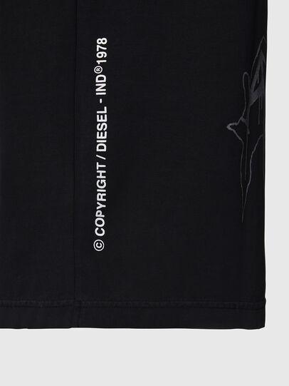 Diesel - T-JUST-X67, Negro - Camisetas - Image 4
