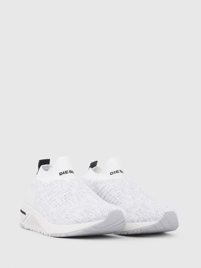 Diesel - S-KB ATHL SOCK, Blanco - Sneakers - Image 2