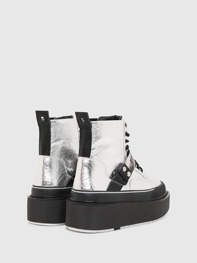 Diesel - H-SCIROCCO STRAP, Plata - Sneakers - Image 3