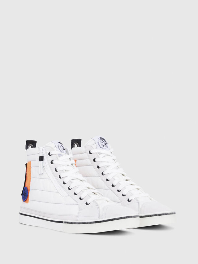 Diesel - D-VELOWS MID PATCH, Multicolor/Blanco - Sneakers - Image 2