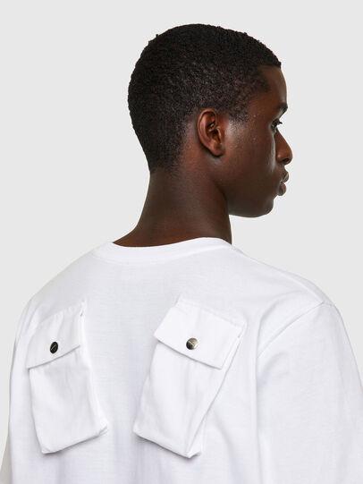 Diesel - T-JUSPOCK, Blanco - Camisetas - Image 3