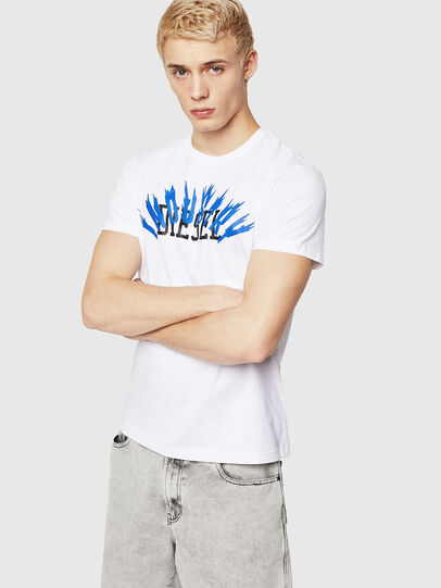 Diesel - T-DIEGO-A10, Blanco - Camisetas - Image 1