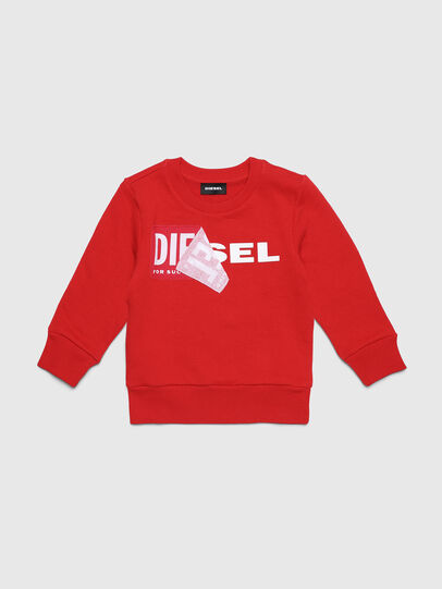 Diesel - SALLIB-R, Rojo - Sudaderas - Image 1