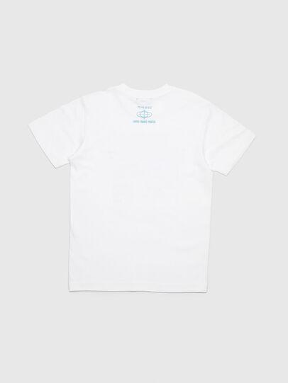 Diesel - TJUSTYC, Blanco - Camisetas y Tops - Image 3
