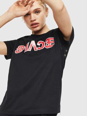T-SILY-WO, Negro - Camisetas