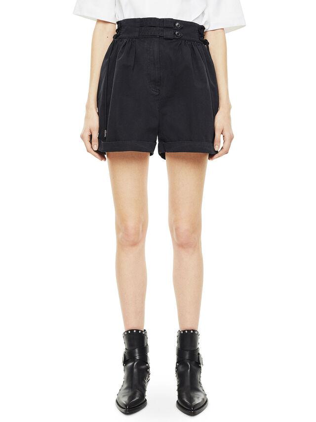 Diesel - SIMONY, Negro - Shorts - Image 1