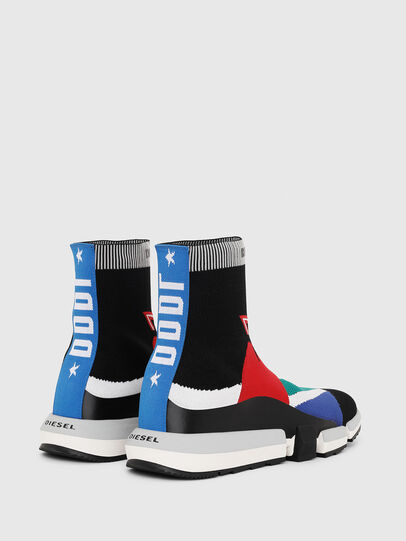 Diesel - H-PADOLA HIGH SOCK, Multicolor - Zapatillas - Image 3