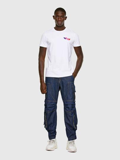 Diesel - T-DIEGOS-K11, Blanco - Camisetas - Image 5