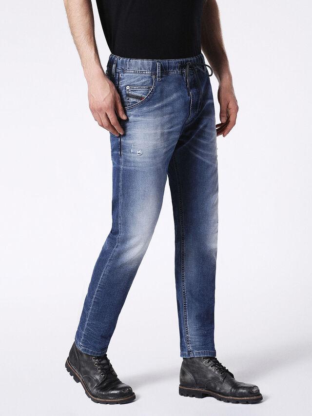 Diesel - KROOLEY JOGGJEANS 0683R, Blue Jeans - Vaqueros - Image 6