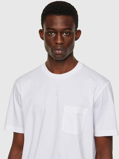 Diesel - T-JUST-WORKY, Blanco - Camisetas - Image 3