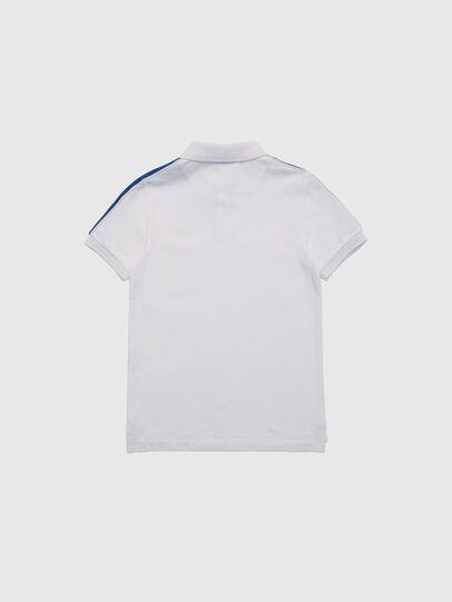 Diesel - TRALFYS1, Blanco/Azul marino - Camisetas y Tops - Image 2