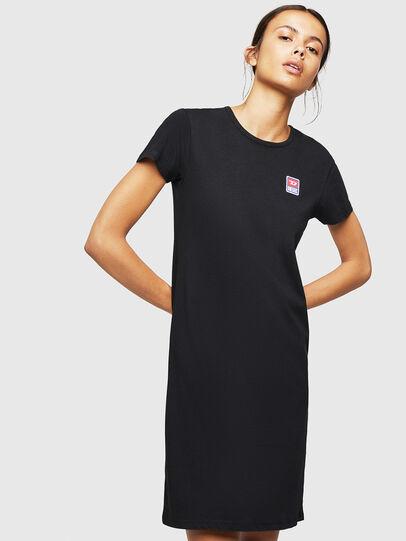 Diesel - UFLT-ISOLLA, Negro - Camisetas - Image 1