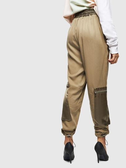 Diesel - P-LEX, Verde Militar - Pantalones - Image 2