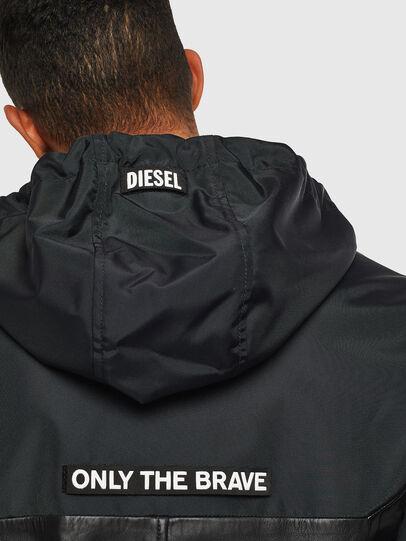 Diesel - L-CARRS, Negro - Chaquetas de piel - Image 3