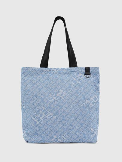 Diesel - F-THISBAG SHOPPER NS, Blue Jeans - Bolsos Shopper y Al Hombro - Image 1