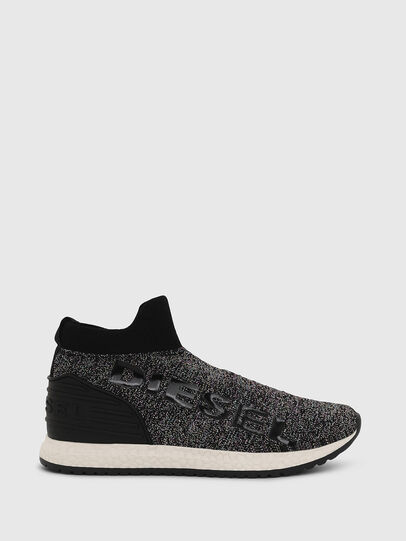 Diesel - SLIP ON 03 LOW SOCK, Negro - Calzado - Image 1