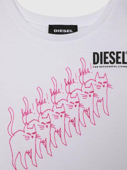 Diesel - TLOPPIB-R, Blanco - Camisetas y Tops - Image 3