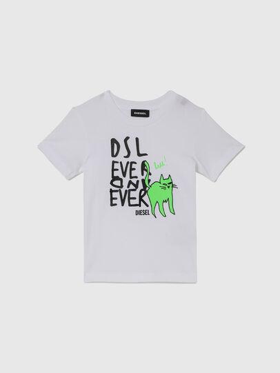 Diesel - TORTUB-R, Blanco - Camisetas y Tops - Image 1