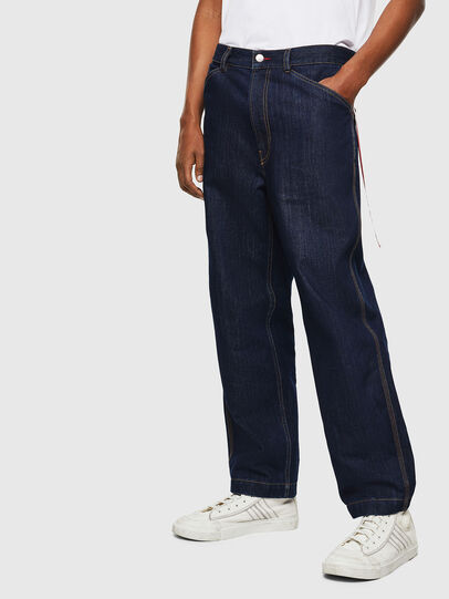 Diesel - CC-D-FRANK, Azul Oscuro - Pantalones - Image 1