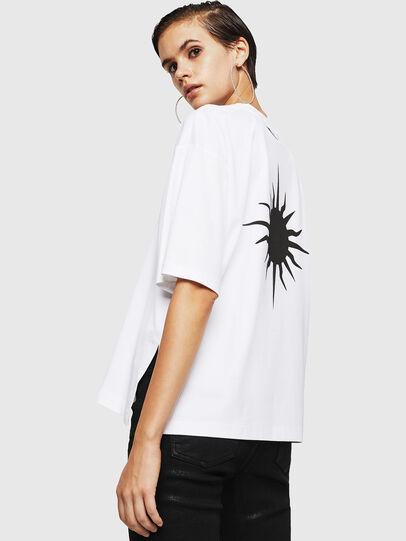 Diesel - TELIX-A, Blanco - Camisetas - Image 2