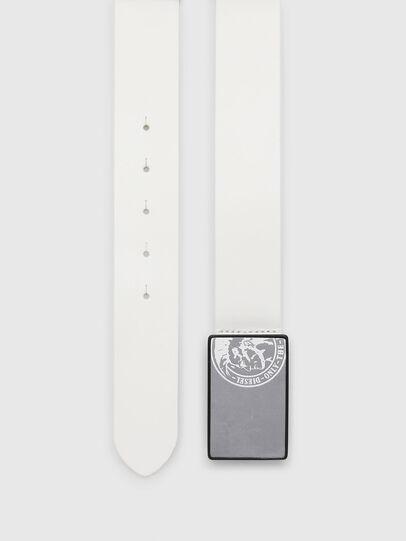 Diesel - B-ACCA, Blanco - Cinturones - Image 3