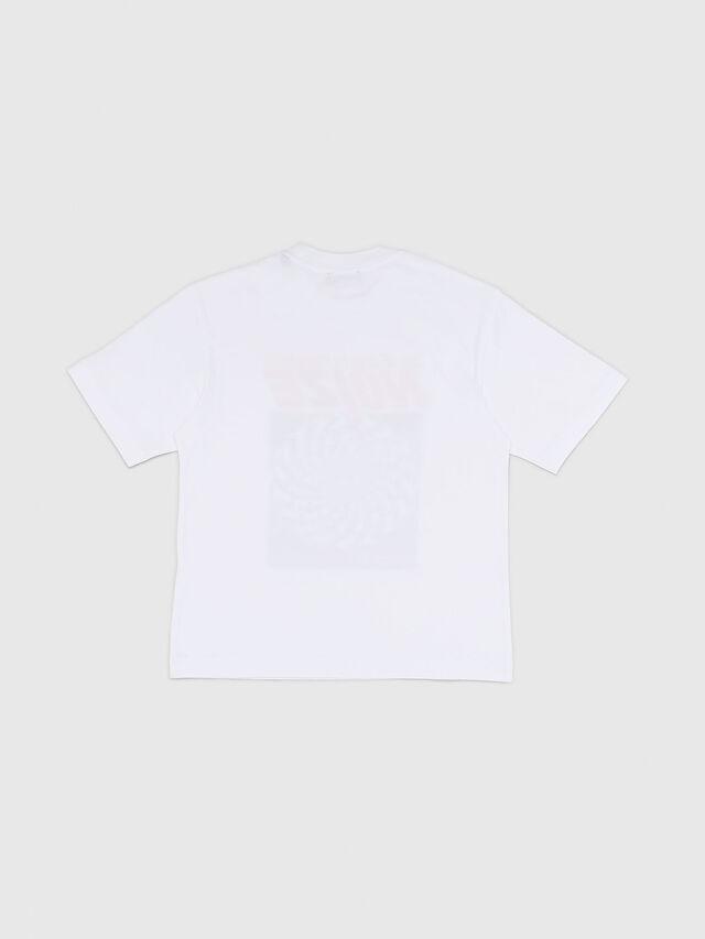 Diesel - TWALLACE OVER, Blanco - Camisetas y Tops - Image 2