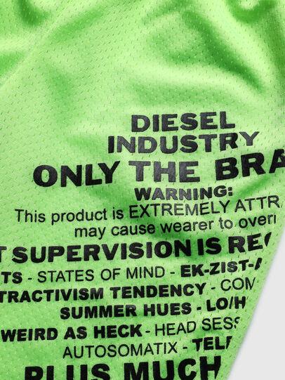 Diesel - PFRAKLE, Verde Fluo - Shorts - Image 3