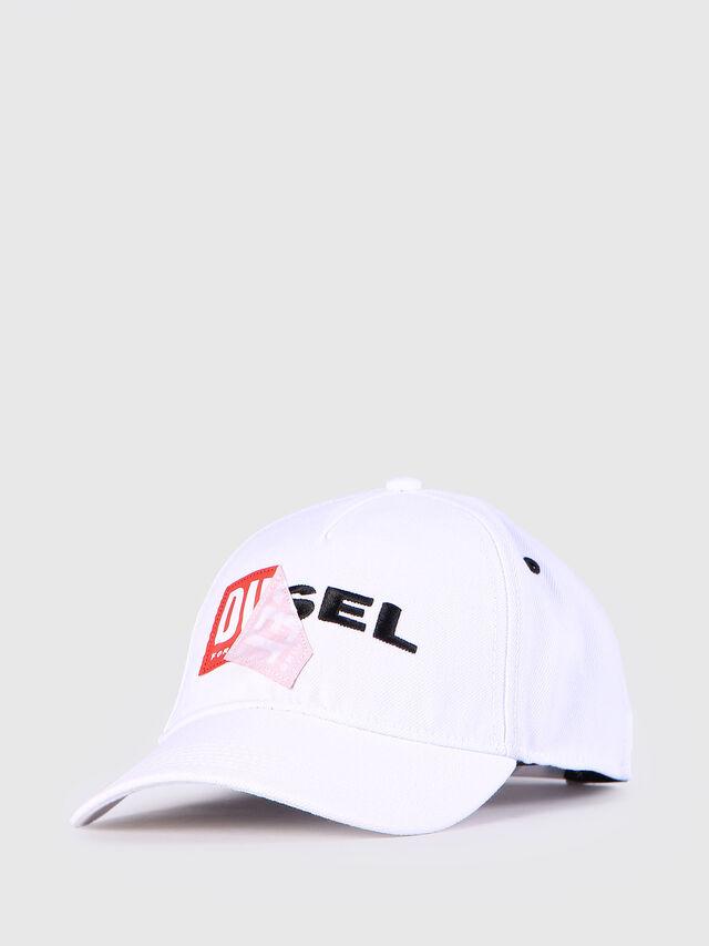 Diesel - CAKERYM, Blanco - Gorros, sombreros y guantes - Image 2